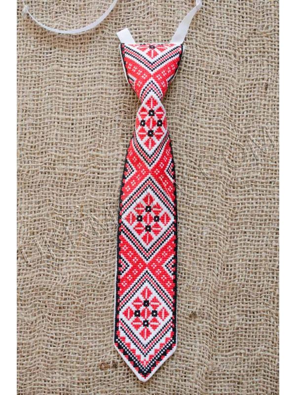 """Краватка """"Ян"""" червоно-чорна"""