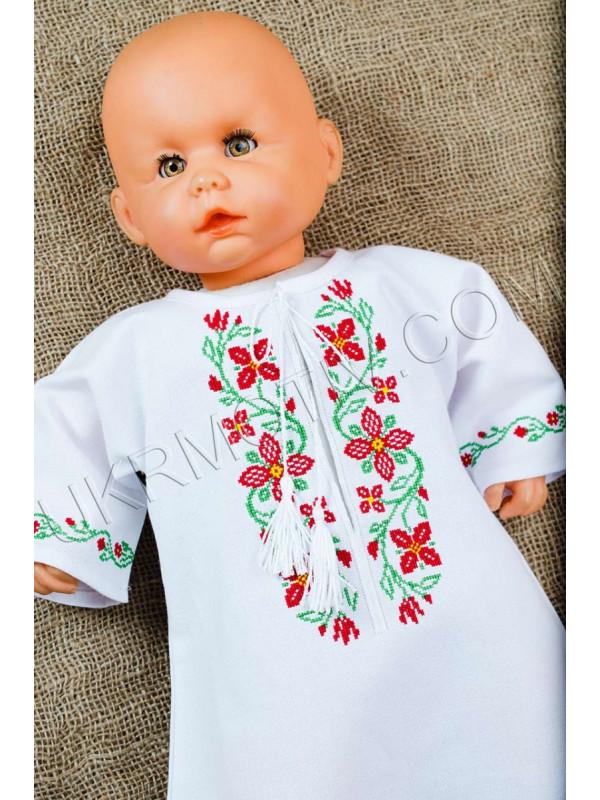 """Вышиванка для девочки  """"Украинский веночек"""""""