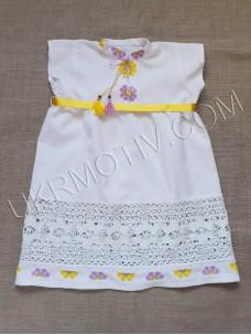 "Вышитое платье-сарафан ""Виолетта"""