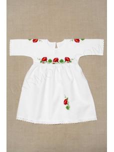 """Сукня з ручною вишивкою """"Березка польова"""""""