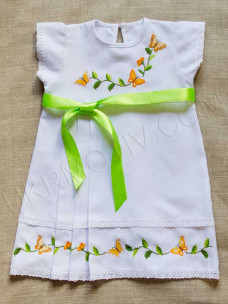 "Вышитое платье-сарафан ""Тепло лета"""