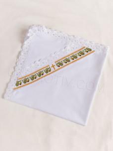 """Крыжма или конверт на выписку """"Дубовые листья"""""""