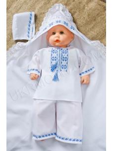 """Набор на выписку или крещение """"Зимняя сказка"""""""