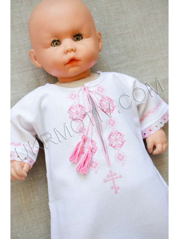 """Сорочка для крещения """"Кристинка"""""""